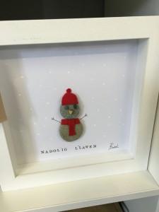 Snowman frame